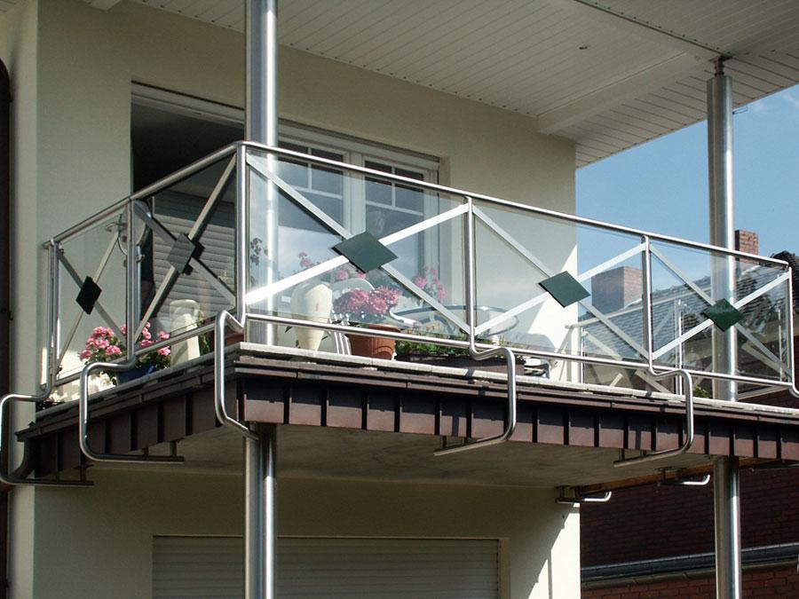 m ller metallbau referenzen balkone treppen und gel nder. Black Bedroom Furniture Sets. Home Design Ideas